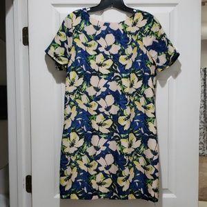 Beautiful J. Crew Floral Shift Dress